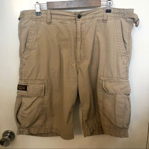 Ralph Lauren Polo military surplus cargo shorts 38